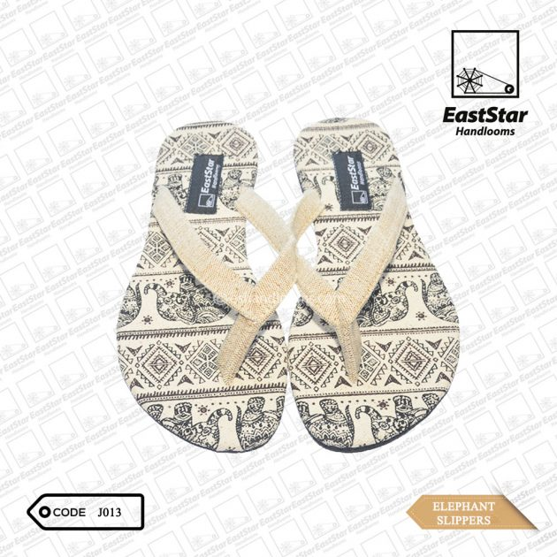 Code #J013 Elephant Slipper