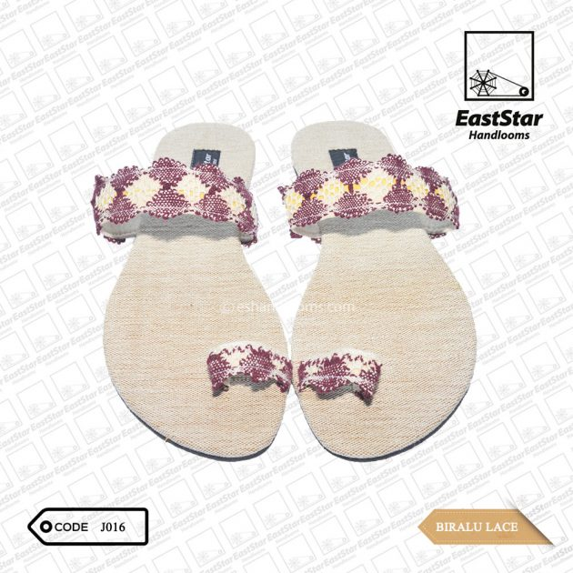 Code #J016 Biralu Lace Slipper