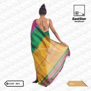 Code #3871 Handloom Silk Saree