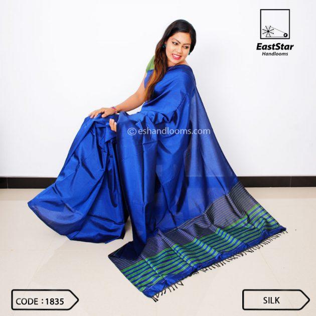 Code #1835 Handloom Silk Saree