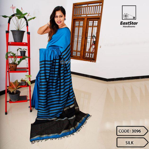 Code #3096 Handloom Silk Saree