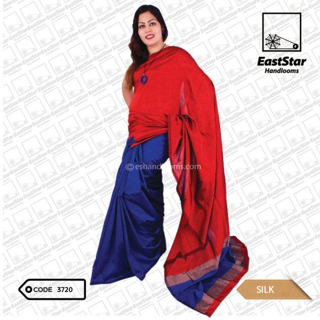 Code #3720 Handloom Silk Saree