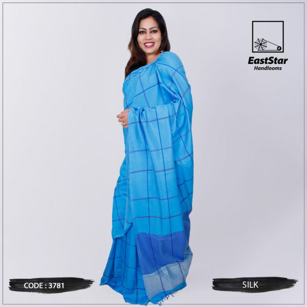 Code #3781 Handloom Silk  Saree