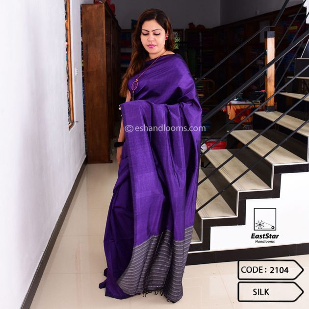 Code #2104 Handloom Silk Saree