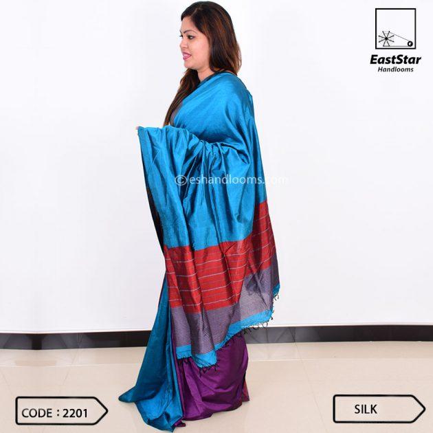 Code #2201 Handloom Silk Saree