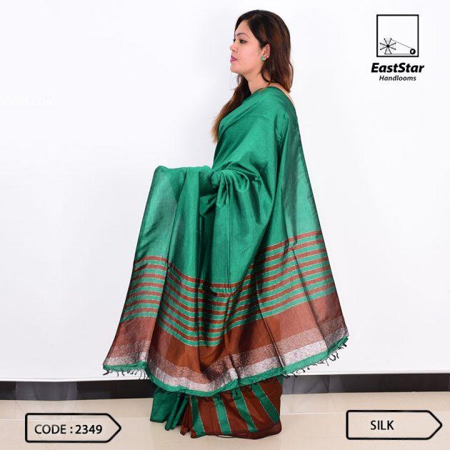 Code #2349 Handloom Silk Saree