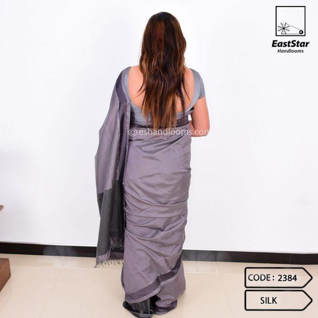 Code #2384 Handloom Silk Saree