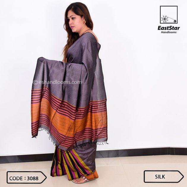 Code #3088 Handloom Silk Saree