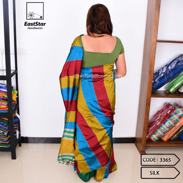 Code #3365 Handloom Silk Saree