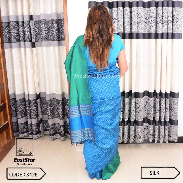 Code #3426 Handloom Silk Saree