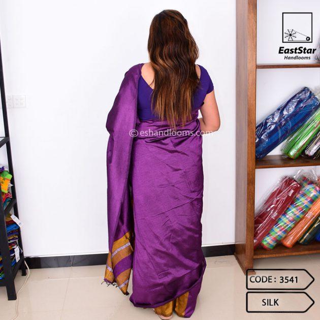 Code #3541 Handloom Silk Saree