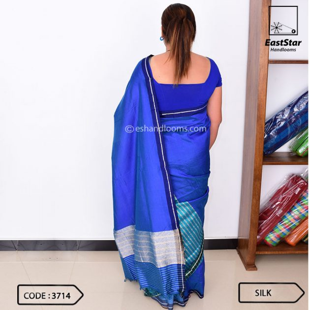 Code #3714 Handloom Silk Saree