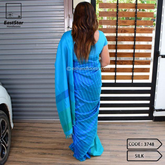 Code #3748 Handloom Silk Saree