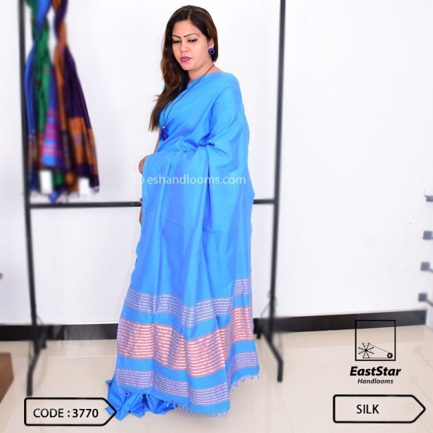 Code #3770 Handloom Silk Saree