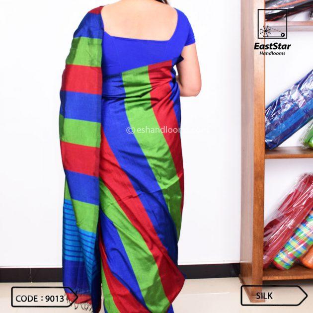 Code #9013 Handloom Silk Saree