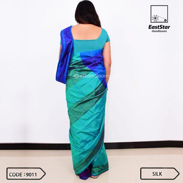 Code #9011 Handloom Silk Saree