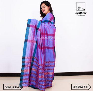 Code #ES166 Handloom Exclusive Silk Saree