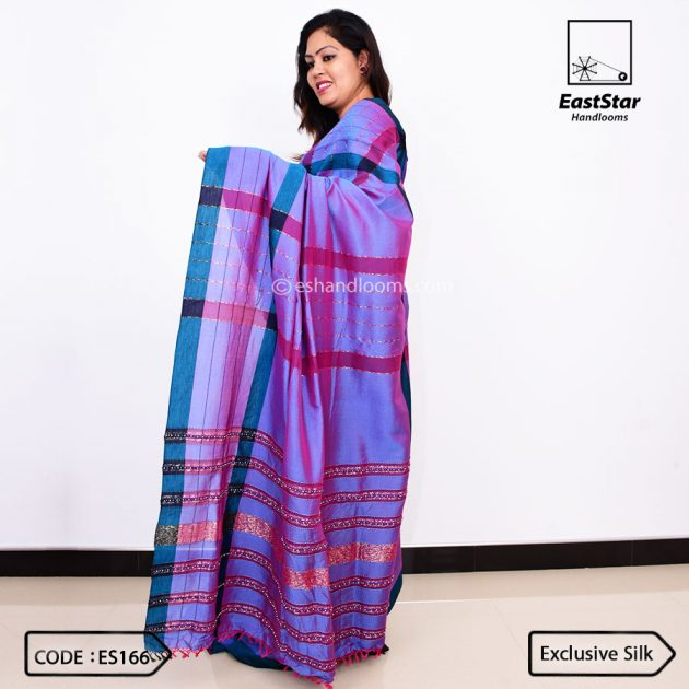 Code #ES166 Handloom Exclusive Silk Saree