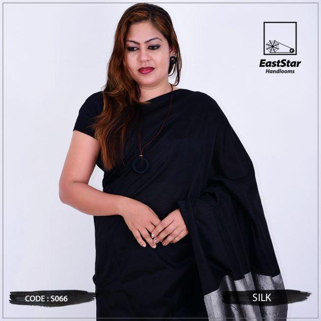 Code #S066 Handloom Silk Saree