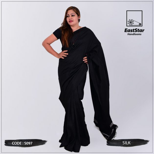 Code #S097 Handloom Silk Saree