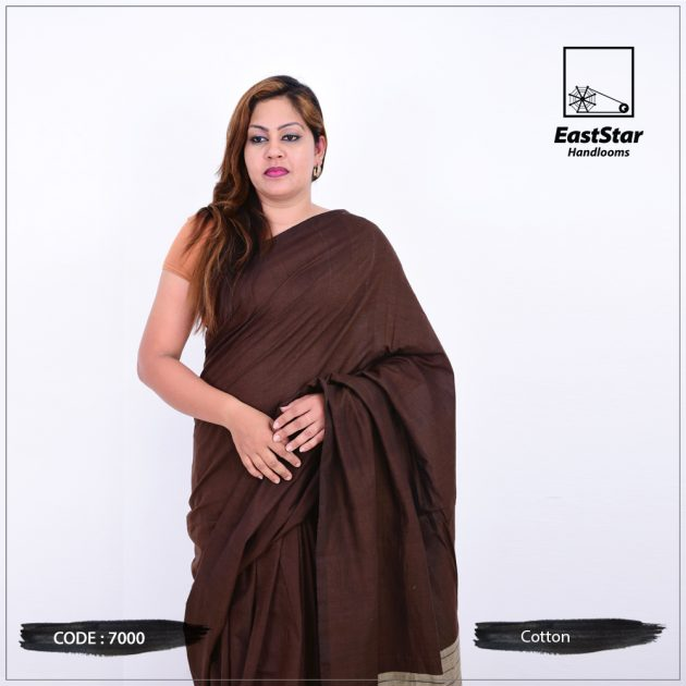 Code #7000 Handloom Cotton Saree