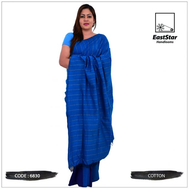 Code #6830 Handloom Cotton Saree