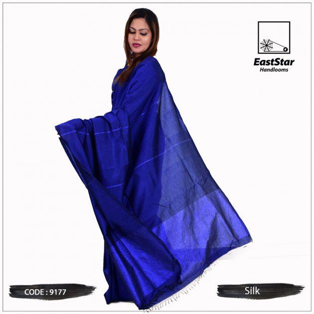 Code #9177 Handloom Silk Saree