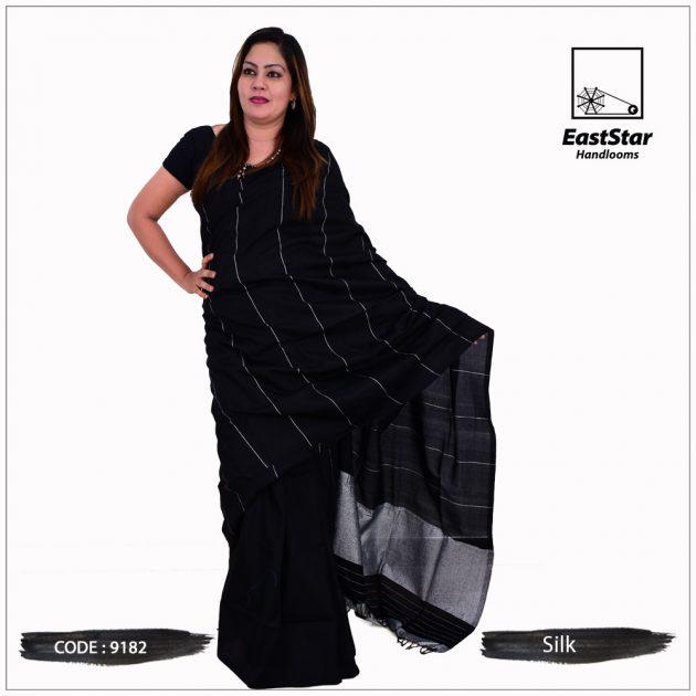 Code #9182 Handloom Silk Saree
