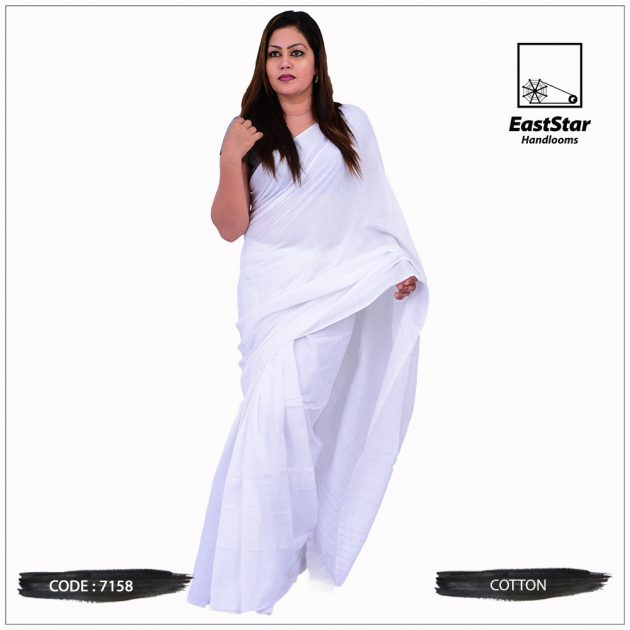 Handloom Cotton Saree 7158