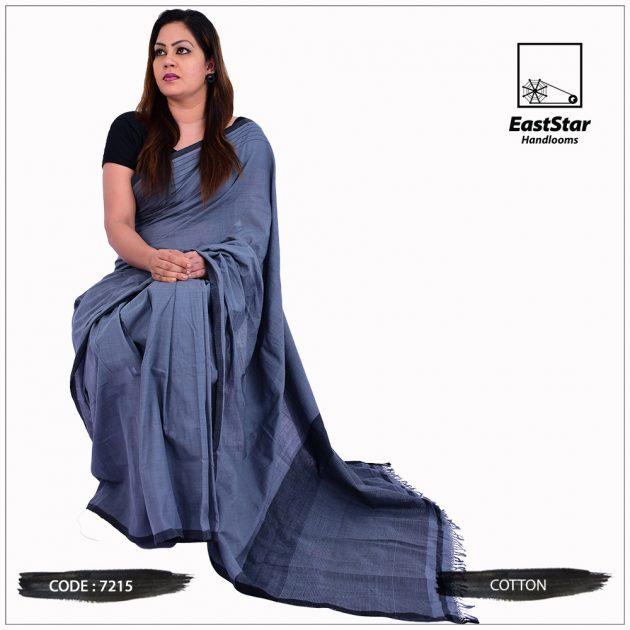 Handloom Cotton Saree 7215