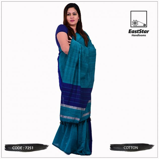 Handloom Cotton Saree 7251
