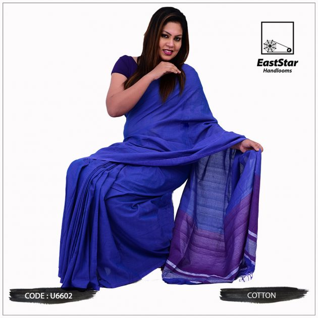 Handloom Cotton Saree U6602