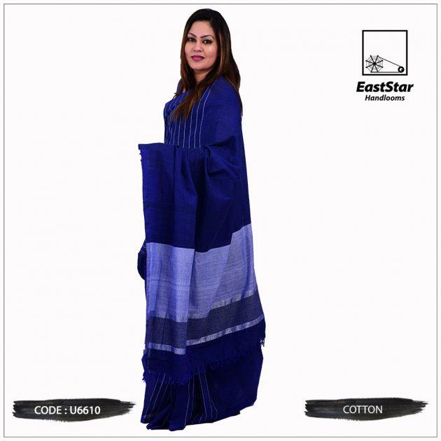 Handloom Cotton Saree U6610