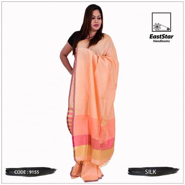 Code #9155 Handloom Silk Saree