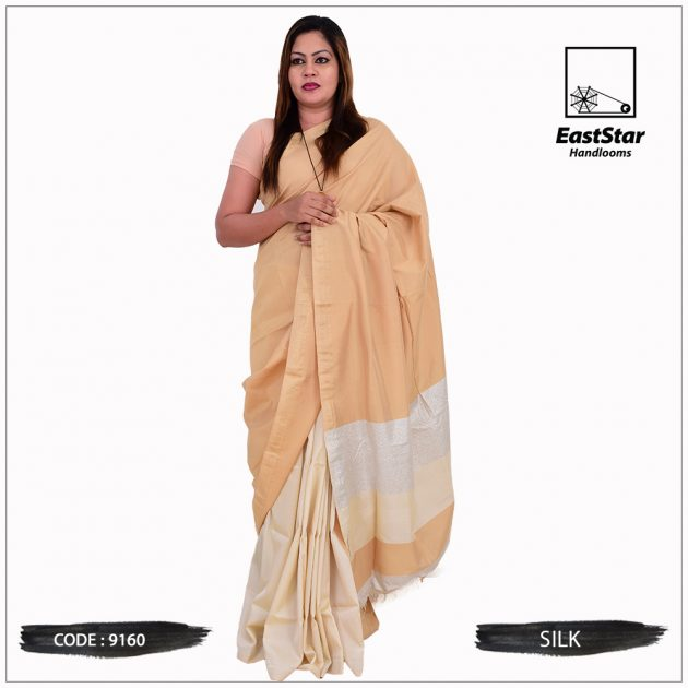 Code #9160 Handloom Silk Saree