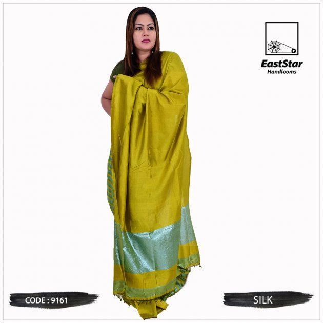 Code #9161 Handloom Silk Saree