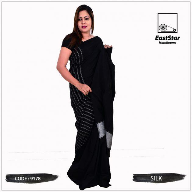 Code #9178 Handloom Silk Saree