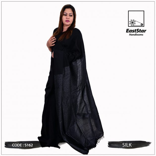 Code #S162 Handloom Silk Saree