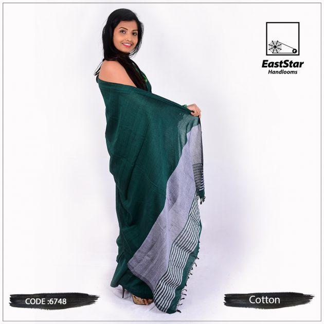 handloom cotton saree 6748