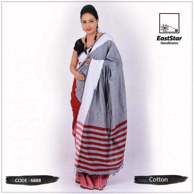 Handloom Cotton Saree 6888