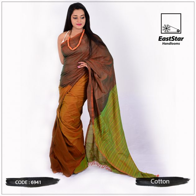 Handloom Cotton Saree 6941
