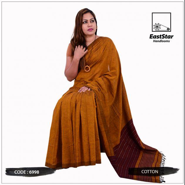 Handloom Cotton Saree 6998