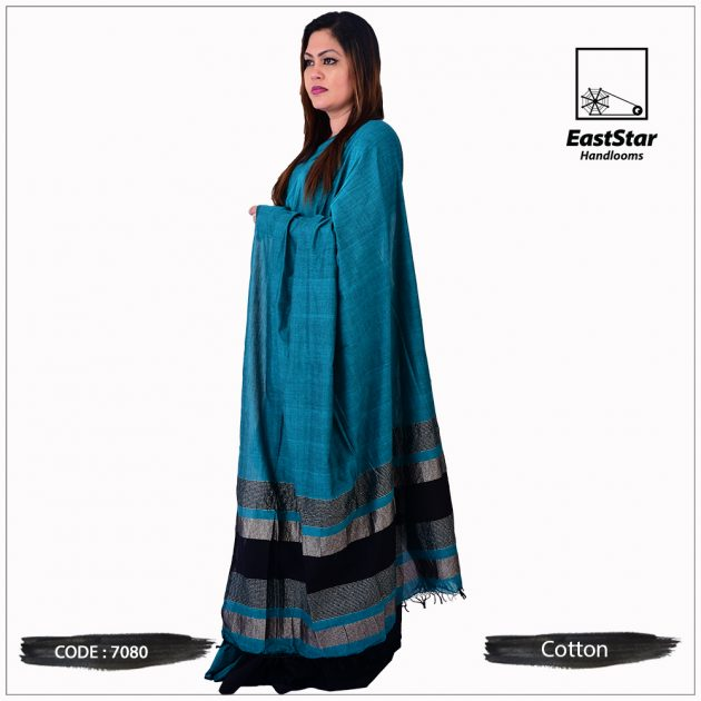 Handloom Cotton Saree 7080