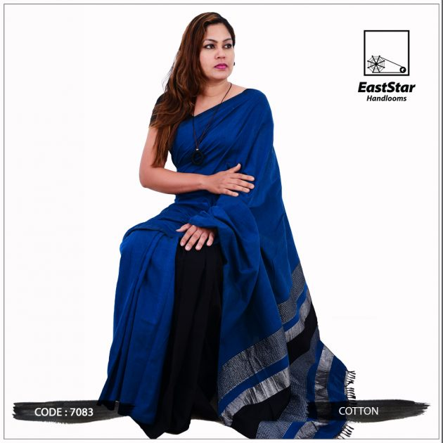 Handloom Cotton Saree 7083