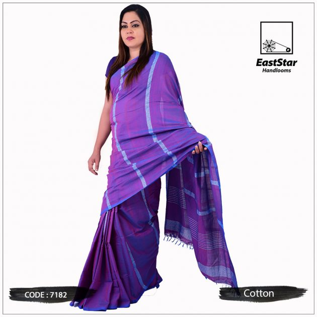 Handloom Cotton Saree 7182