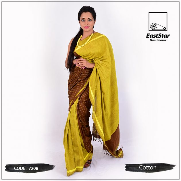 Handloom Cotton Saree 7208