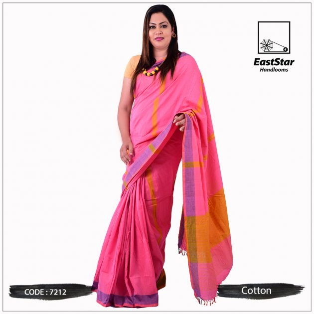 Handloom Cotton Saree 7212