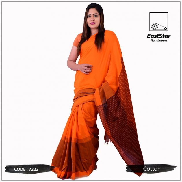 Handloom Cotton Saree 7222