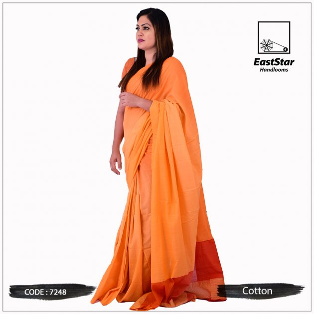 Handloom Cotton Saree 7248