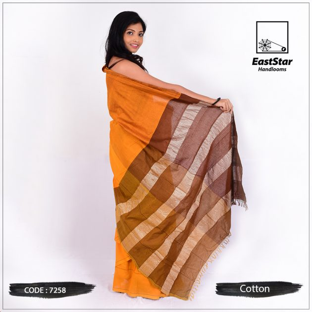 Handloom Cotton Saree 7258